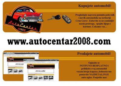 reklama01 prodaja automobila crna gora, Kumbor