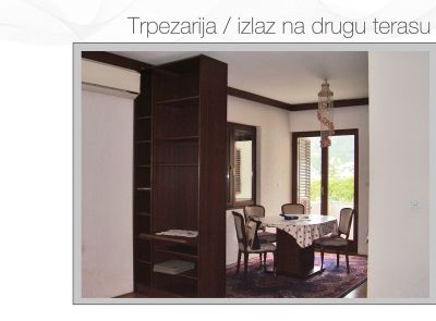 dinning room apartman petrovac