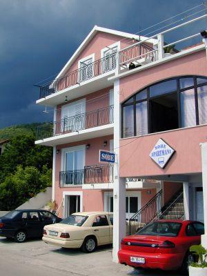apartmani i sobe milanović   kumbor milanovic s and rooms - kumbor