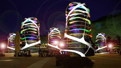 night pau modular building system, Herceg Novi