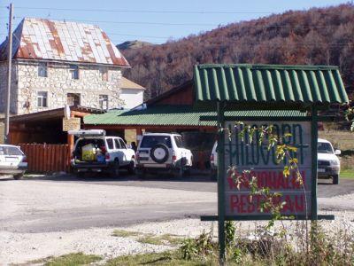 eko_kamp trsa eco-camp, Pluzine