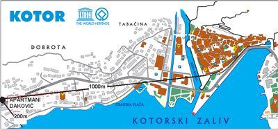 apartmani_dakovic_dobrota_kotor_mapa 2