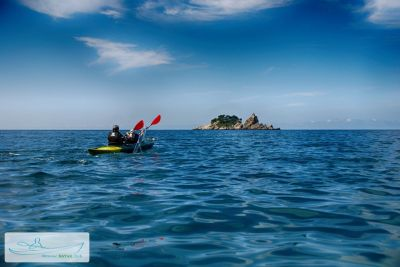 1 kayak tours, Petrovac