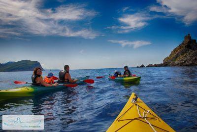 2 kayak tours, Petrovac