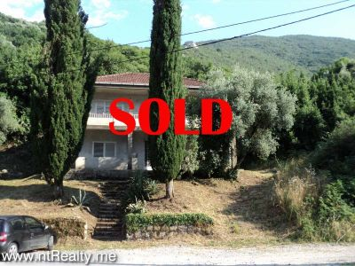 dsc08961sold sold kotor bay - kostanjica, villa with plot close to sea €225,000 sold