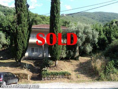dsc08961sold sold kotor bay - kostanjica, villa with plot close to sea €225,000 sold, Kostajnica