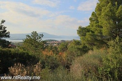 kavac development plot for sale 200 (1) tivat - kavac, development plot with planning and views over tivat bay and st marko island  for sale, Kotor