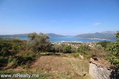 tivat radosevici, stone ruins 163 (25) tivat bay stone ruins with plot overlooking porto montenegro for sale €149,000