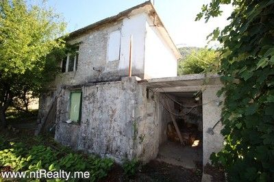 tivat radosevici, stone ruins 163 (4) tivat bay stone ruins with plot overlooking porto montenegro for sale €149,000