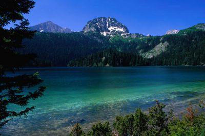 crno jezero   crna gora   black lake durmitor