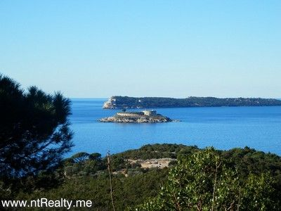 p1130876 lustica-zanjic, investment plot  with sea views for sale €179,000