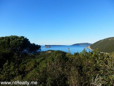 p1130877 lustica-zanjic, investment plot  with sea views for sale €179,000