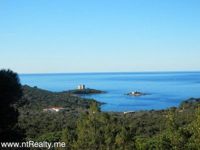 p1130882 lustica-zanjic, investment plot  with sea views for sale €179,000