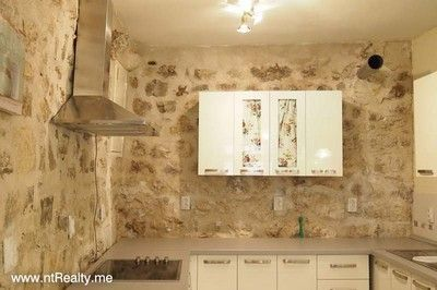 shop interior   back wall sold kotor old town, renovated shop €100,000 sold
