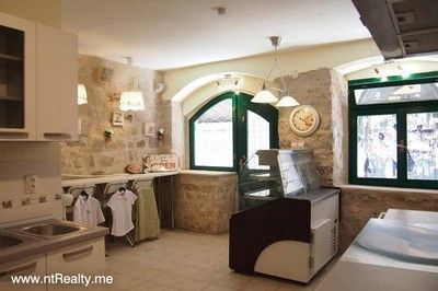 shop interior sold kotor old town, renovated shop €100,000 sold
