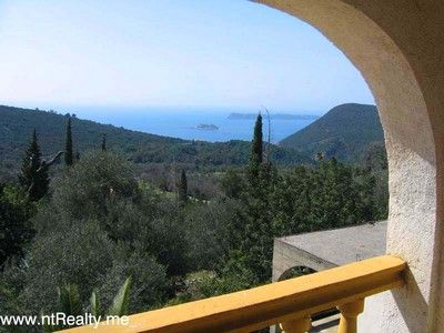 eraci 1_view from top floor 2 sold lustica, eraci, villa with amazing views and potential €140,000 sold