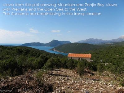 img_0617 x 800 lustica, zambelici,  development land for sale with stunning views over zanjic bay  €319,500