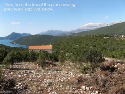 img_0618 x 800 lustica, zambelici,  development land for sale with stunning views over zanjic bay  €319,500