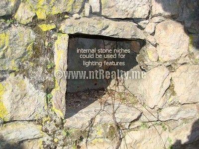 sveti stasije house 011 stone ruin in prime location dobrota, kotor for sale €275,000