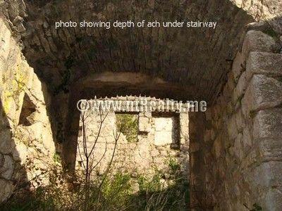 sveti stasije house 022 stone ruin in prime location dobrota, kotor for sale €275,000