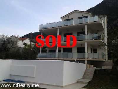 20140407_163644 sold sold prcanj penthouse  with swimming pool and parking €179,000, Kotor