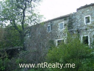 p4140010 sold old stone ruin in bijela, tivat bay, montenegro €65,000