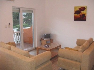 living area 1 sold prcanj 1 bedroom  with terrace €59,995 sold