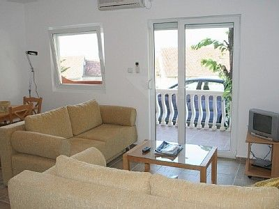open plan living room sold prcanj 1 bedroom  with terrace €59,995 sold
