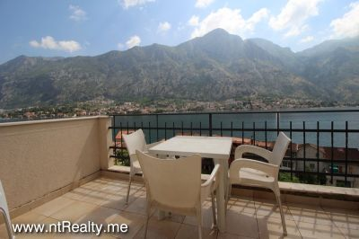 kotor view apartment (24) sold kotor view  fully furnished 2 bedroom, 2 balconies, parking and pool €149,500 sold, Prcanj