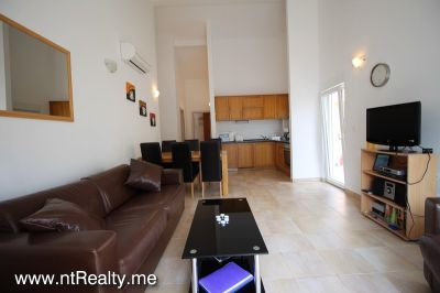kotor view apartment (27) sold kotor view  fully furnished 2 bedroom, 2 balconies, parking and pool €149,500 sold, Prcanj