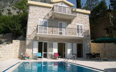 1ljuta villa in ljuta with pool, kotor bay, montenegro - 50m from the sea in a quiet village