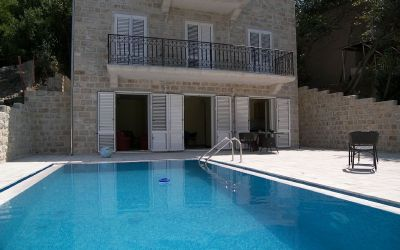 2ljuta villa in ljuta with pool, kotor bay, montenegro - 50m from the sea in a quiet village