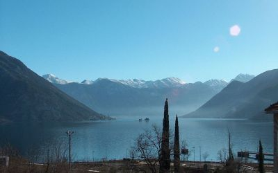 3ljuta villa in ljuta with pool, kotor bay, montenegro - 50m from the sea in a quiet village