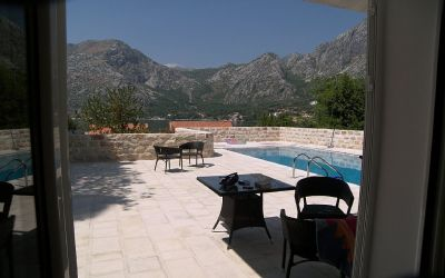 4ljuta villa in ljuta with pool, kotor bay, montenegro - 50m from the sea in a quiet village