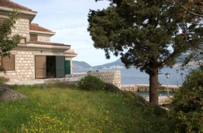rose2 rose, lustica, unquie waterside villa on large plot with it`s own mooring for sale, €1,800,000