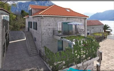 2 2 bedroom  for sale,€116,000, kotor - excellent rental potential!