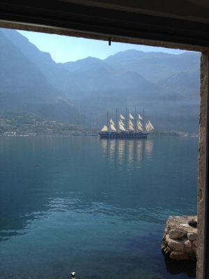 2 a superbly, high-end renovated waterfront cottage in kotor bay - excellent investment!