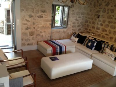 3 a superbly, high-end renovated waterfront cottage in kotor bay - excellent investment!