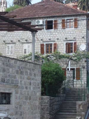 perast 1 spacious house in perast, only 20 metres from the waterfront