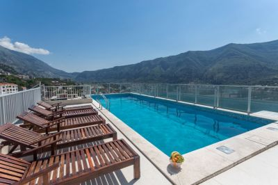 a two bedroom  for sale in kotor, dobrota, € 140,000