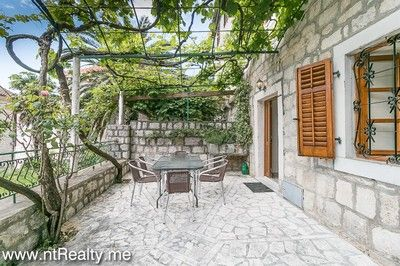 20160518 perast stone cottage 2nd line (9) perast 3 bedroom stone cottage with large terrace and sea views for sale €435,000