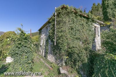 donja lastva plot with stone ruin (2) tivat,donja lastva-plot with stone cottage for renovation for sale €269,000