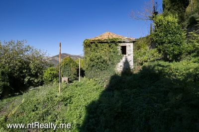donja lastva plot with stone ruin (5) tivat,donja lastva-plot with stone cottage for renovation for sale €269,000