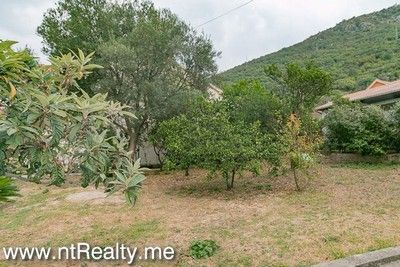 lepetani land and house (14) tivat bay, lepetani- house and plot on the first line for sale €454,000