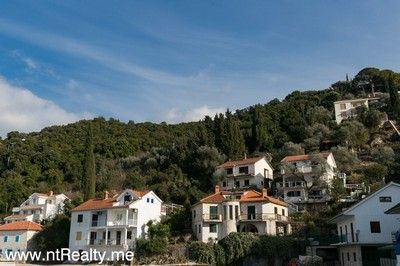 rose 4k m2 2nd line plot  (1) lustica peninsula - urbanised plot in rose with planning proposal for sale €800,000
