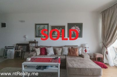 1 bedroom sold sold tivat - donja lastva, bright  with terrace overlooking the sea €115,000 sold