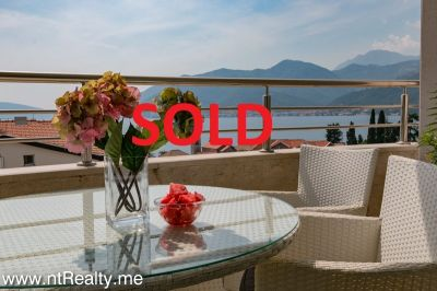 2 bedroom sold sold tivat - donja lastva, elegant two bedroom  with gorgeous views €220,000 sold