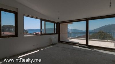 img_7002 2 tivat bay - donja lastva, penthouse with stunning view in brand new private complex for sale €468,000