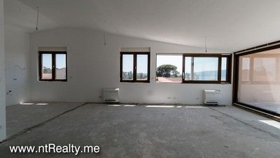 img_7003 3 tivat bay - donja lastva, penthouse with stunning view in brand new private complex for sale €468,000