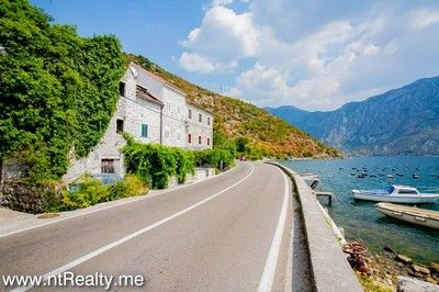 strp stone house villa 352 (37) sold kotor bay - strp, waterfront stone villa on the first line for sale €315,000